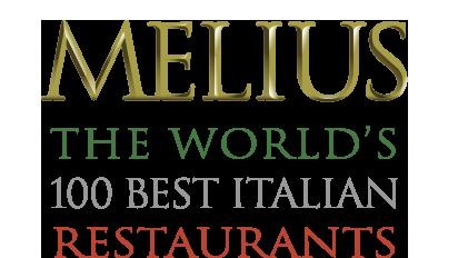 Melius The Worlds 100 Best Italian Restaurants
