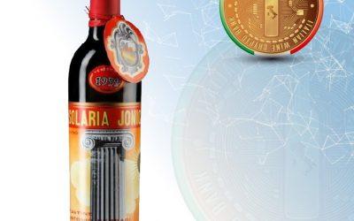 THE GREAT WINES OF ITALIAN WINE CRYPTO BANK: SOLARIA JONICA 1959, ANTONIO FERRARI