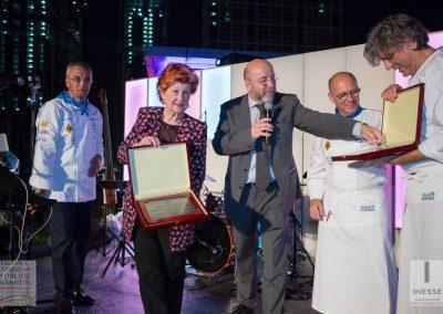 2016 Dubai - Chef Anne Feolde, Chef Heinz Beck e Chef Giorgio Locatelli