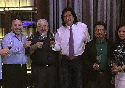 2016 Pechino - Italian Cuisine and Wines World Summit con Chef Umberto Bombana, Chef Da Dong e food journalis Ricky Xu