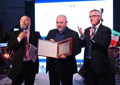 2017 Dubai - Ambasciatore negli UAE Liborio Stellino e Chef Umberto Bombana tre stelle Michelin a Hong Kong