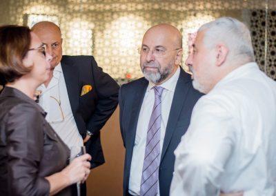 2017 Dubai - Console Generale a Dubai Valentina Setta e Chef Umberto Bombana