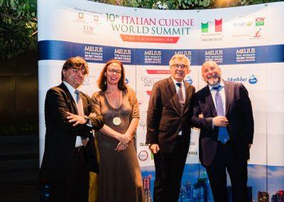 2018 Dubai - Direttore ICE Gianpaolo Bruno, Console Generale a Dubai Valentina Setta e Ambasciatore UAE Liborio Stellino2