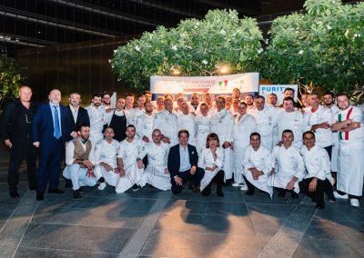2018 Dubai - gli chef dell'Italia Cuisine World Summit