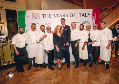 2019 Bangkok - Ambasciatore in Tailandia e chef Tano Simonato, Chef Felice Lo Basso, Domenico Stile, Chef Daniele Repetti e Chef