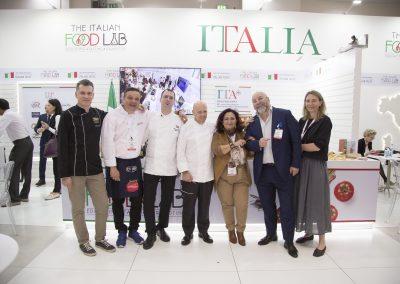 2019 Dubai - ITAlian food lab gulfood e Chef Heinz Beck