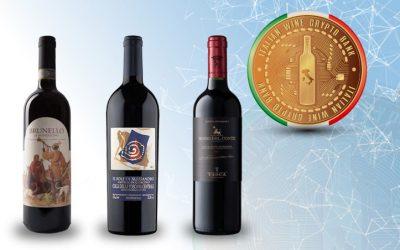 THE ITALIAN WINE CRYPTO BANK WELCOMES THREE OTHER GREAT WINERIES:  CASA RAIA, CASTELLO DI QUERCETO AND TASCA D'ALMERITA
